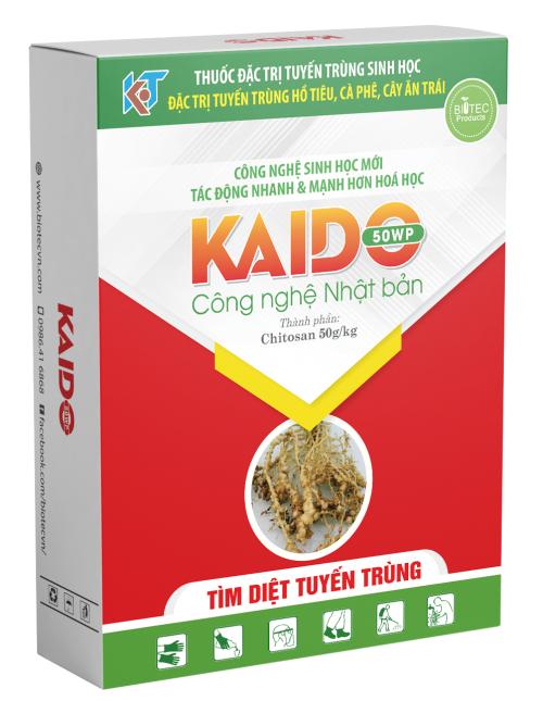 KAIDO 50WP Đặc trị Tuyến Trùng Sinh Học.