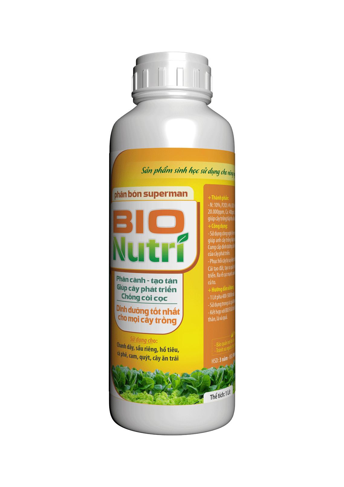Phân bón cây trồng - BIO NUTRI